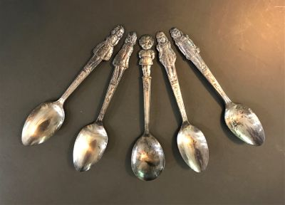 Collection Vintage Campbell Soup 'Kids Spoons'
