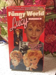 The Funny World of Lucy Volume 2 VHS