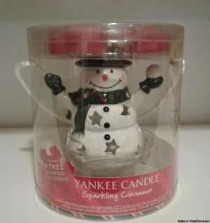 YANKEE CANDLE SNOWMAN LUMINARY GIFT SET