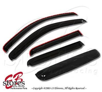 Buy Vent Shade In-Channel Window Visor Sunroof 5pc Combo Scion xA 04-07 motorcycle in La Puente, California, US, for US $43.95