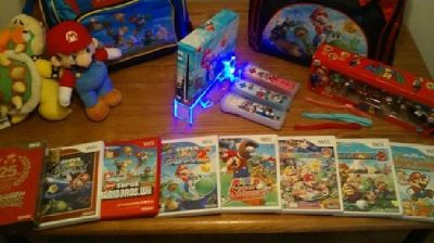 Super Mario Edition Nintendo Wii Bundle
