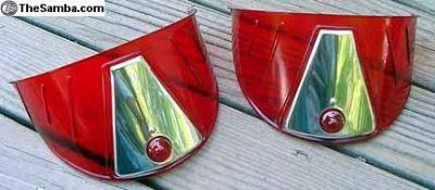 Old Skool colored headlight visors 4 VWs