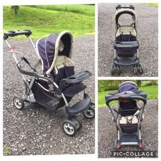 Sit & Stand Stroller, good used condition **READ PICK-UP DETAILS BELOW