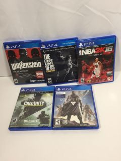 PS4 Game Lot