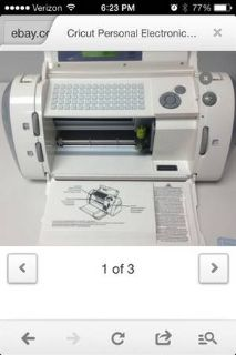 Cricut cutting machine