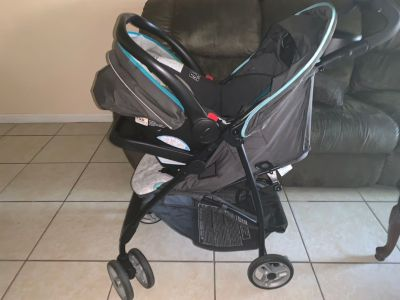 Graco Stroller And Car seat set