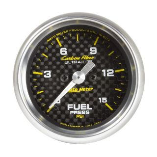 Purchase Auto Meter 4761 Carbon Fiber; Electric Fuel Pressure Gauge motorcycle in Rigby, Idaho, United States, for US $286.95