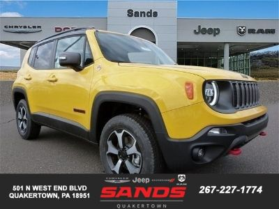 2019 Jeep Renegade (Solar Yellow Clearcoat)