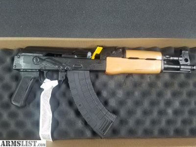 For Sale/Trade: NIB: Romanian Draco ak 47 pistol