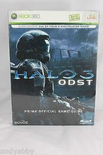 Halo 3 ODST Prima Official Game Strategy Guide Manual Xbox 360