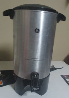 G. E. 42-cup Electric Coffee Pot