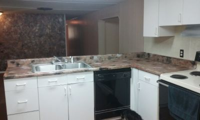 Mobile home 3 bedrooms 2baths for rent