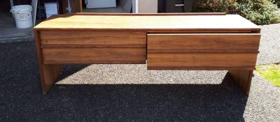 FREE Wood shelf with two drawers