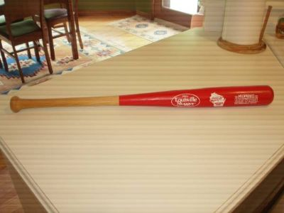 Milwaukee Brewers 25 Anniversary Edition Coca-Cola Promo Wooden Bat