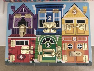 Melissa and Doug Wooden Latches Puzzle