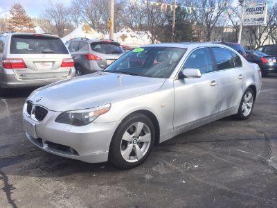 2007 BMW 5-Series 525xi (Silver Gray Metallic)