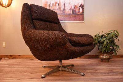 Space Age Mid Century Overman Pod Lounge Chair