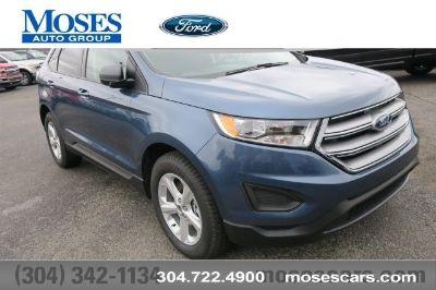 2018 Ford Edge SE (blue)