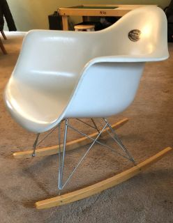 Land of Nod Modern Rocking Chair for Baby or Kids Room