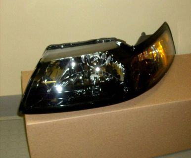 Find 2001 2002 2003 2004 Ford Mustang Headlight Head Lamp New OEM Part 3R3Z 13008 DA motorcycle in Duluth, Georgia, US, for US $129.00