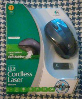Logitech LX8 cordless laser mouse