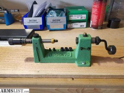 For Sale: Redding 2400 Match Precision case trimmer $100