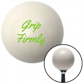 Purchase Green Grip Firmly Ivory Shift Knob with 16mm x 1.5 Inserttop grip weighted motorcycle in Portland, Oregon, United States, for US $29.97