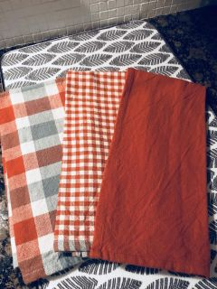 New! Home Goods Fall Kitchen Towels!