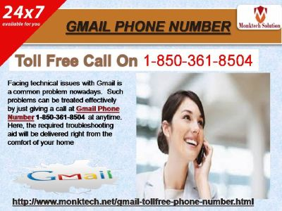 Gmail Phone Number 1-850-361-8504– All You Need to Know