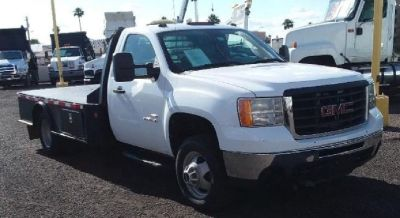 2010 GMC *Steel Flat Bed Diesel*