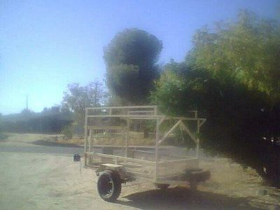 4 by 6 trailer Open utility trailer /will trade for home repairs plus a couple of swamp coolers