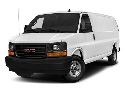 2018 GMC Savana Cargo Van Work Van (White)