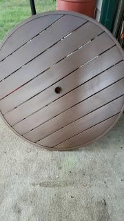 Out door patio table