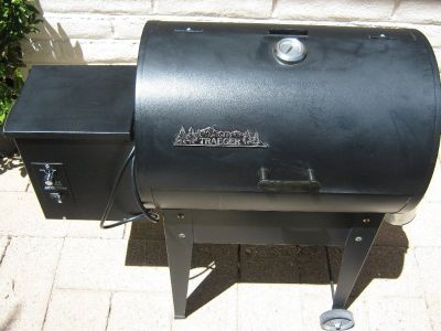 Traeger wood pellet grill