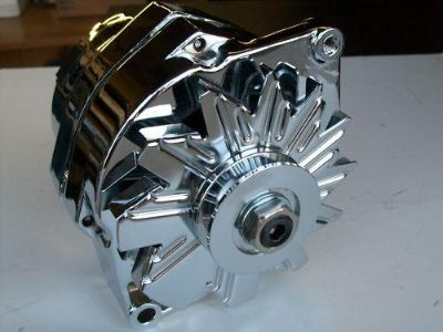 Sell CHEVY/ PONTIAC/ OLDS CHROME ALTERNATOR 100A 1 OR 3-WIRE motorcycle in Sparks, Nevada, US, for US $49.00