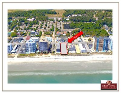 Exeter Ocean Front Lot-.64 Acres-Land For Sale-Myrtle Beach-Keystone Commercial Realty