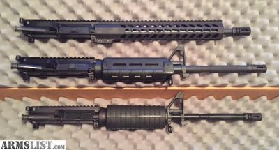 For Sale/Trade: AR15 PARTS (UPPERS, BCG/CHs, LOWER)
