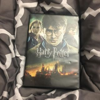 Harry Potter and the deathly hallows part 2 movie dvd