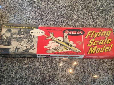 Antique Flying Scale Model