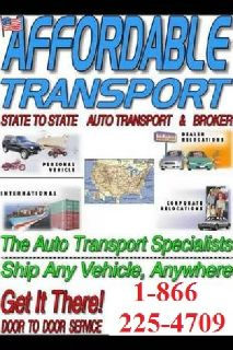 Auto Transport ! Free Quotes 15 % of Call -800-360-9403