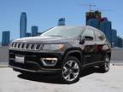 Used 2018 Jeep Compass Diamond Black Crystal Pearlcoat, 15 miles