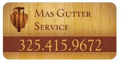 Mas Gutter Service