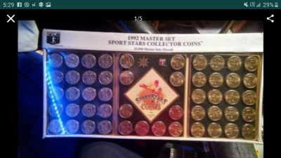 1992 sport stars coins