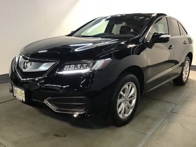 2016 Acura RDX AWD 4dr Tech/AcuraWatch Plus P (Crystal Black Pearl)