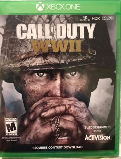 CALL OF DUTY: WWII - NEW - FACTORY SEALED