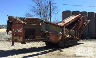 Extec Tracked Mobile Screen Plant