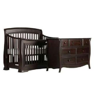 Designer Baby Nursery Furniture CRIB & DRESSER (new)