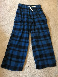 Old Navy Blue and black plaid lounge pants