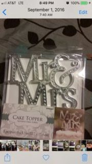 Cake topper and more