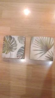 Leaf wall decor, or could set on table, shelf